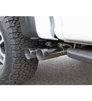 aFe POWER Rebel Series 3in 409 SS Cat Back Exhaust w/ Black Tips 17 Ford F-150 Raptor V6-3.5L