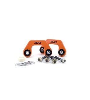 AVO Suspension Rear Solid Endlinks w/polyurethane - 02-07 WRX