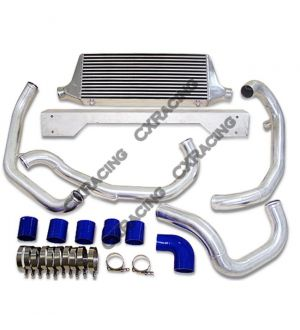 CX Racing  CXRacing FMIC Intercooler Kit For 02-06 Subaru WRX STi  Intercooler + Piping + Silicon Hose + T-Clamp + Bracket + BOV + Coolant Reservoir Tank  This is NOT the Cheap Kits You See On Ebay, These Kits Look Alike But They Don't Fit. This  Kit Fits