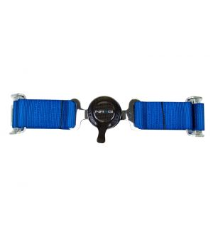NRG Innovations 4 Point Seat Belt Harness / Cam Lock- Blue