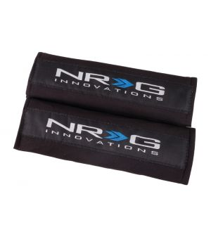 NRG Innovations Seat Belt Pads - Black