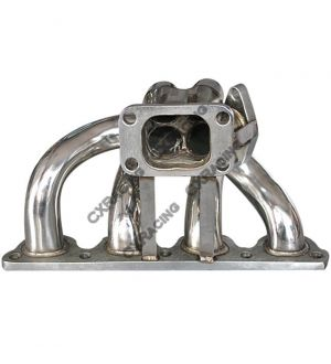 CX Racing Turbo Manifold For 88-00 Honda Civic With D16 Engine T3 Turbo Flange