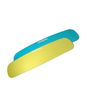 Prova Wide-View Rear View Mirror Blue