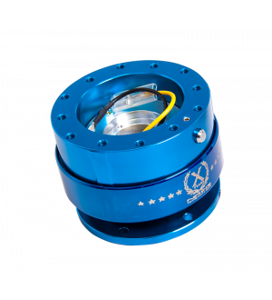 NRG Innovations Quick Release - Blue Body/Neo-Chrome Ring