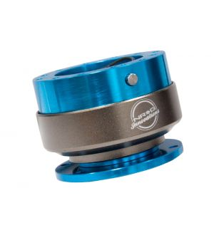 NRG Innovations Quick Release - New Blue Body/Neo-Chrome Ring