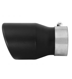aFe MACH Force-XP 409 SS Single Wall Universal Clamp On Exhaust Tip - Black