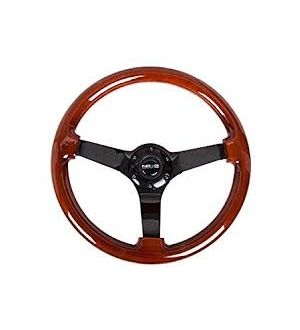NRG Innovations Classic Dark Wood Grain Wheel (3