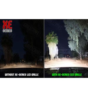 Grillcraft XE Series 2 Lamp LED Grille Kit - 18+ WRX / STI