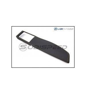 Subaru OEM Leatherette Dash Trim with Yellow Stitching - 2013+ BRZ