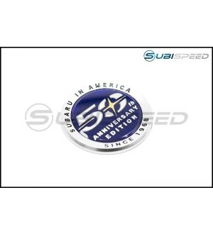 Subaru 50th Anniversary OEM Emblem