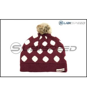 Subaru Ladies Polka Dot Beanie