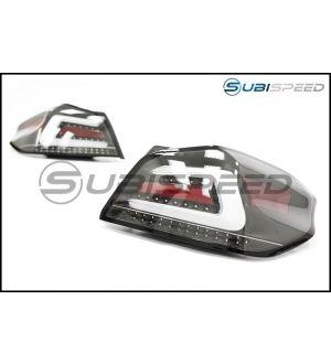 SubiSpeed USDM TR Style Sequential Tail Lights (CB) - 15-18 WRX / STI