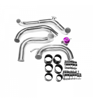 CX Racing FMIC Intercooler Piping Kit + BOV For 89-99 Nissan 240SX S13 SILVIA SR20DET