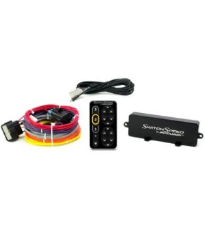 AccuAir Suspension SwitchSpeed Controller Black Anodized