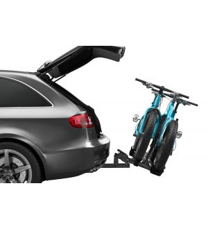 Thule T2 Classic 2 - Platform Hitch-Mount Bike Rack (2in. Hitch Recv./2-4 Bikes w/Add-On) - Black