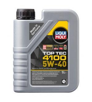 LIQUI MOLY 205L Top Tec 4100 Motor Oil 5W-40