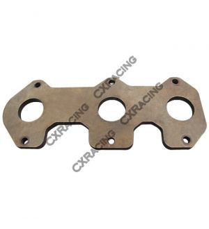 CX Racing Exhaust Manifold Steel flange For MAZDA Rotary 20B RX7 RX2 RX3