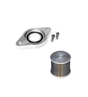 Torque Solution HKS Blow Off Valve Adapter w/ Plug: Subaru WRX 2008-2014 & Legacy GT 05-09