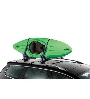 Thule Hull-A-Port J-Style Kayak Rack - Silver/Black