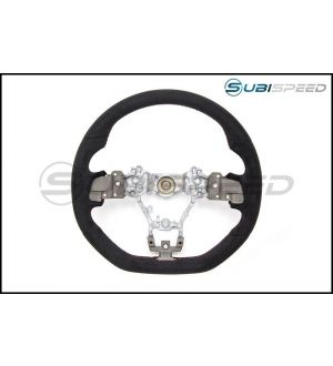 Subaru Type RA Ultrasuede Steering Wheel - 15+ WRX / STI