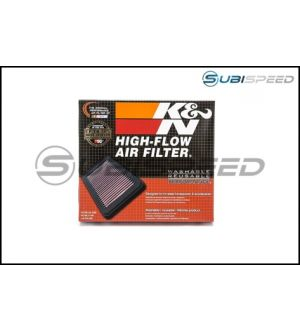 K&N PANEL AIR FILTER - 2015+ WRX / 2015+ STI / 2014+ Forester