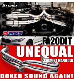 TOMEI Exhaust Manifold Kit Extreme FA20DIT UNEQUAL LENGTH