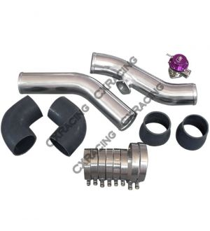 CX Racing Intercooler + Piping BOV Kit For 240Z 260Z 280Z RB26DETT Stock Turbo RB26 280ZX