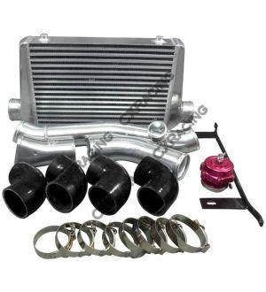 CX Racing Intercooler Piping BOV Kit For Mazda RX7 SA FB 13B RX-7 Single Turbo