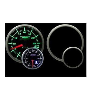 ProSport EGT Gauge Electrical w/Sender Green/White 52mm