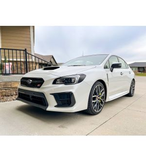 STICKER FAB SPECIAL EDITION DARK SMOKE STEALTH HEADLIGHT OVERLAYS 2015-2020 Subaru WRX & STI