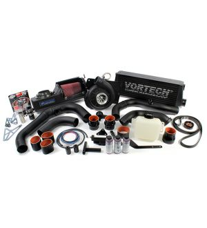Vortech Supercharger Kit V-3 H67BC Air to Air IC Black Finish