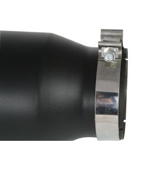 aFe MACH Force-XP 409 SS Right Side Single Wall Exhaust Tip 5in Inlet x 7in Outlet x 15in L