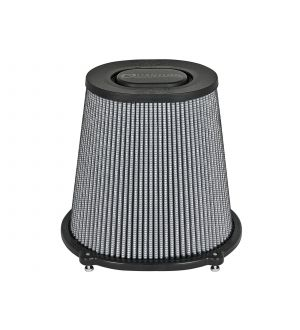 aFe Quantum Pro DRY S Air Filter Flat Top - 5in Flange x 9in Height