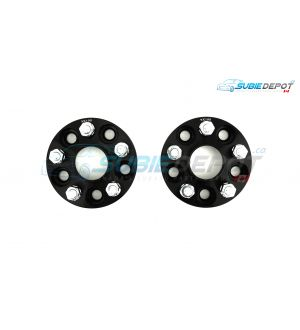 FT86MS Hub Centric Wheel Bolt-on Spacers 30mm 5x100 PAIR - BLK - 13+ FR-S/BRZ/86