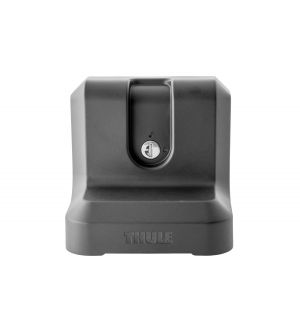 Thule HideAway Awning Adapter for Aftermarket Roof Racks (w/Lock) - Black
