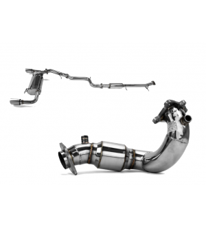 X-Force Turbo Back Exhaust