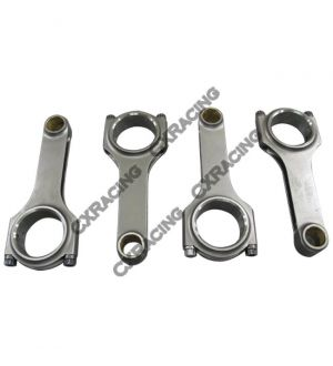 CX Racing H-Beam Connecting Rods and Bolts For 87-94 TOYOTA 3SGTE CRS-5424 Celica/MR2 2.0L Turbo