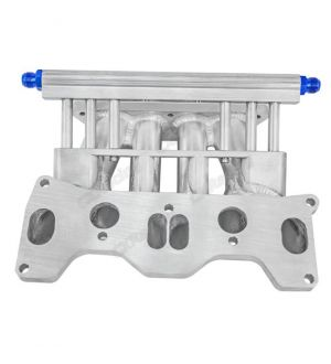 CX Racing Intake Manifold For RX7 Turbo 2 FC 13B 6 Ports Fits FD REW Upper