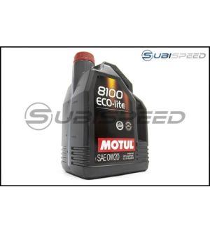 MOTUL 5L JUG SYNTHETIC ENGINE OIL 8100 0W20 ECO-LITE