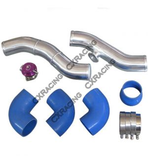 CX Racing Intercooler Piping BOV Kit For 240Z 260Z 280Z 280ZX RB26 RB26DETT Swap Single Turbo