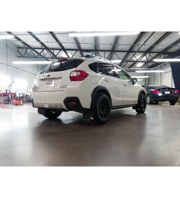Rokblokz Subaru XV Crosstrek 2013-2017 Rally Mud Flaps