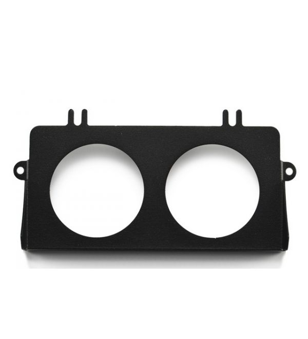 Subtle Solutions (05-07) Impreza - Ashtray Gauge Bezel w/ (2) 60mm (Black)