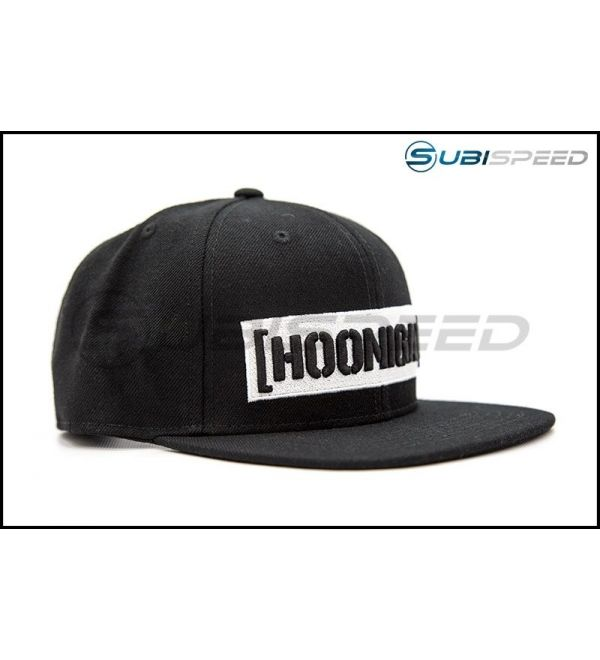 3c78fea81 HOONIGAN Censor Bar Snapback Hat Black / White